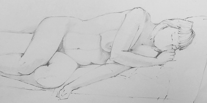 Life Drawing - Model as Muse