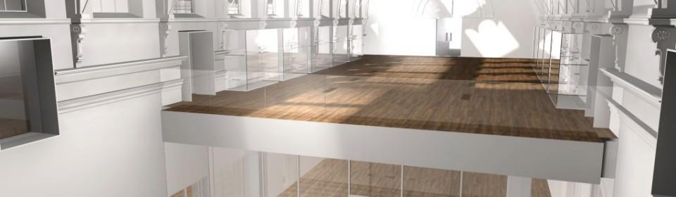 Artists impression of York Art Gallery