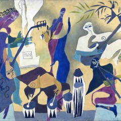 African Musicians (1939) by Samuel Haile. Copyright estate of the artist and York Museums Trust.jpg
