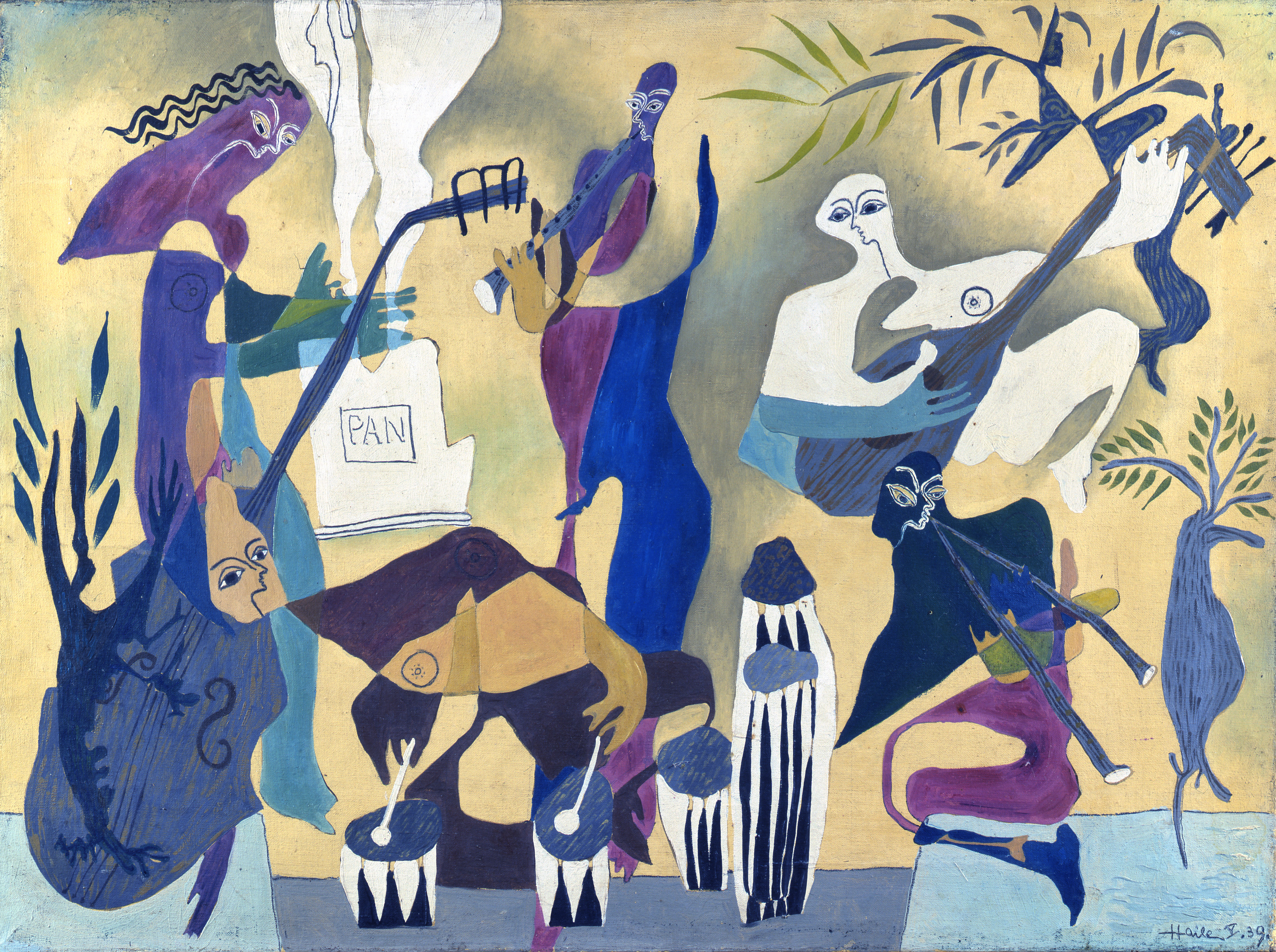 music musicians african trust york abstract artist lowry exhibition classic ls previous samuel haile paintings painting warhol andy museums 1939