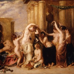 Toilette of Venus 1835, from the York Art Gallery collection.