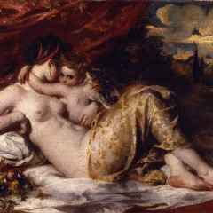 Venus and Cupid, William Etty 1830, from York Art Gallery's collection