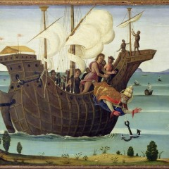 The Martyrdom of St. Clement by Bernardino Fungai (1460-1516)