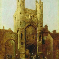 Monk Bar, York by William Etty
