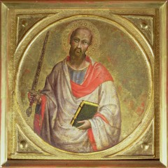 St. Paul the Apostle (temper on tooled gold ground) by Martino de, Bartolomeo (1369-1434)