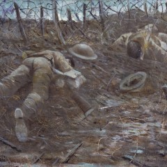 © IWM (Art.IWM ART 518) Paths Of Glory, by CRW Nevinson 1917