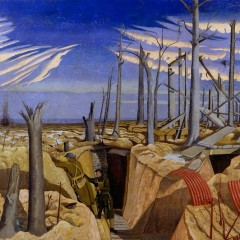 © IWM (Art.IWM ART 2243) Oppy Wood, 1917. Evening, by John Nash 1918.