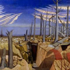 © IWM (Art.IWM ART 2243) Oppy Wood, 1917. Evening, by John Nash 1918.
