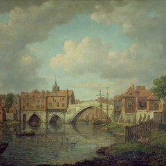 William Marlow, The Old Ouse Bridge, York, 1758-1768, YORAG : 176