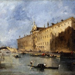 Francesco Guardi, The Rio dei Mendicanti, 1780-1790, YORAG : 825