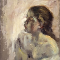 A Study of a Girl's Head, by Hilaire-Germain-Edgar Degas Scottish National Gallery. Presented by Sir Alexander Maitland in memory of his wife Rosalind, 1960