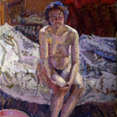 Interior with Nude - Harold Gilman (YORAG:725.1) © York Museums Trust