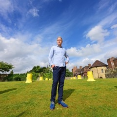 Artist and architect, Charles Holland (image © Anthony Chappel-Ross)