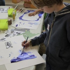 Schools can use our Studio for art workshops