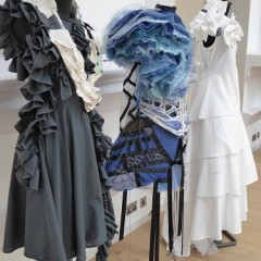 Fashion work by York College students