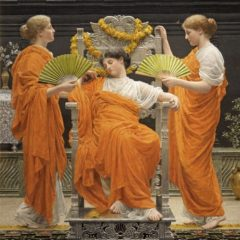 Albert Moore, Midsummer, 1887. PHOTOGRAPH REPRODUCED WITH THE KIND PERMISSION OF THE RUSSELL-COTES ART GALLERY & MUSEUM, BOURNEMOUTH