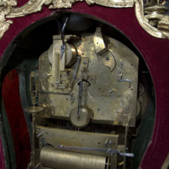 A clock mechanism.