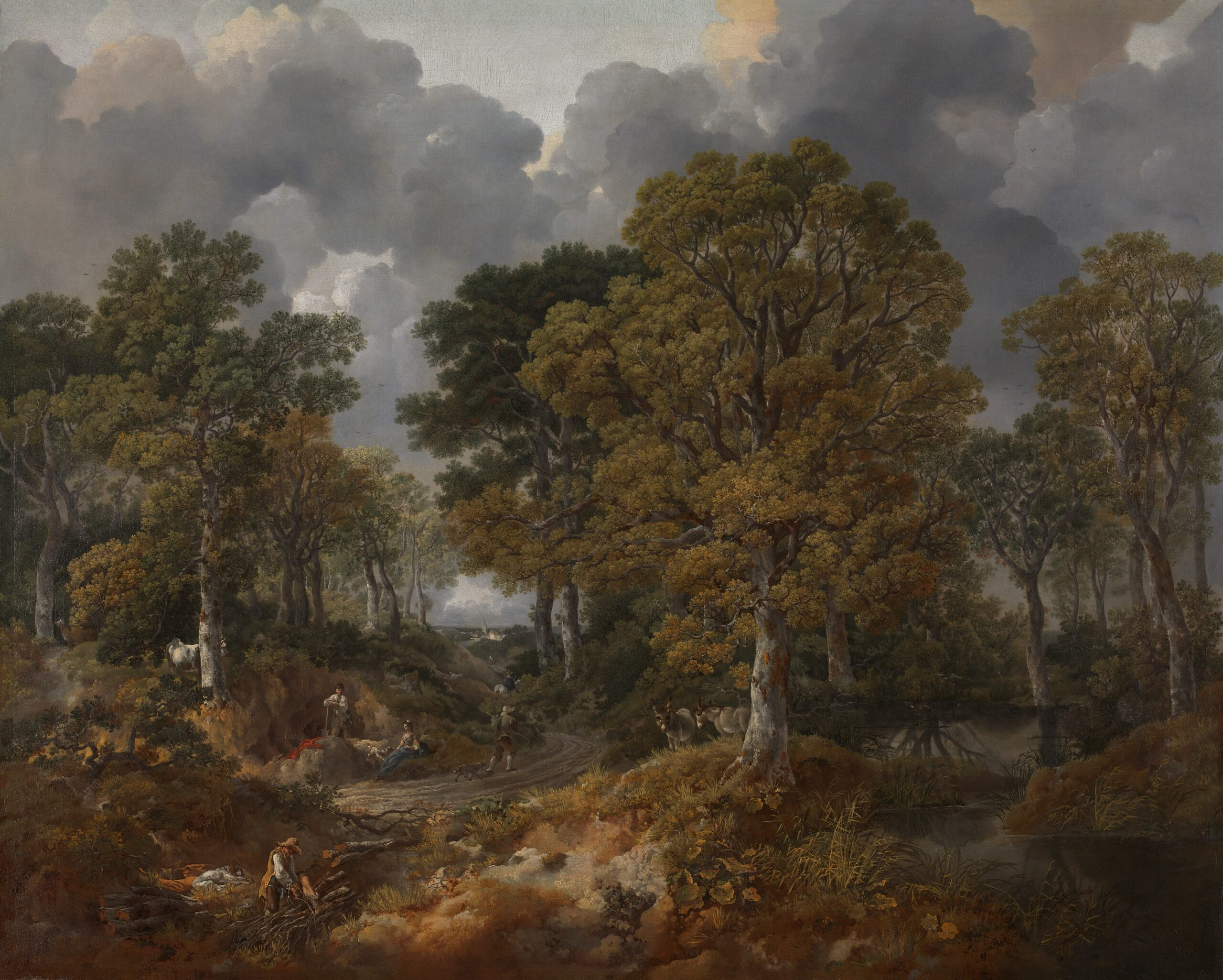 Young Gainsborough: Rediscovered Landscape Drawings